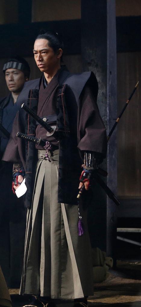 「峠 最後のサムライ」より、EXILE AKIRA演じる山本帯刀。