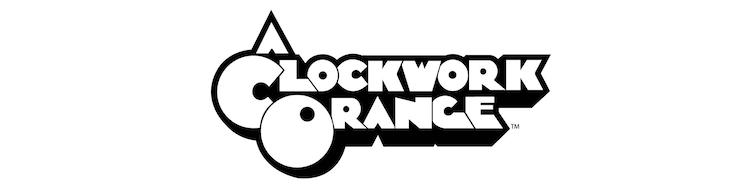 「時計じかけのオレンジ」ロゴ
