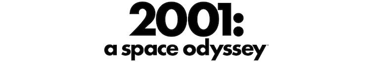 「2001年宇宙の旅」ロゴ