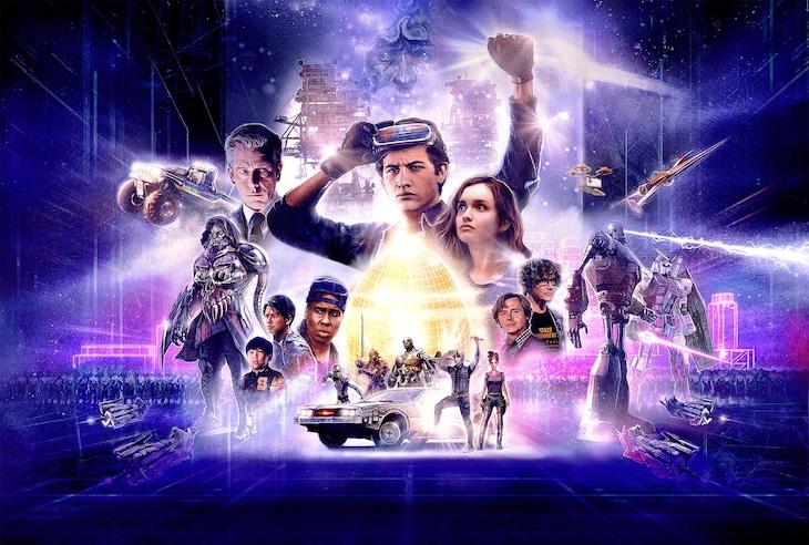 「レディ・プレイヤー1」ビジュアル (c)Warner Bros. Entertainment Inc.