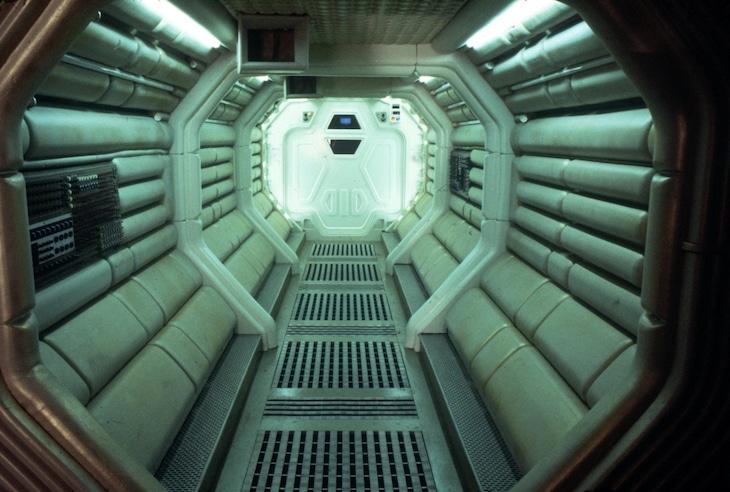 20世紀スタジオが配布した「エイリアン」シリーズの背景素材。