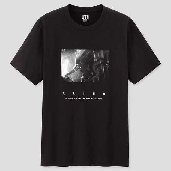 「エイリアン」のグラフィックTシャツ。 ALIEN TM & (c) Twentieth Century Fox Film Corporation. All Rights Reserved.