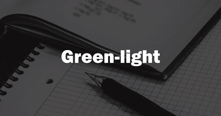 「Green-light(グリーンライト)」ロゴ