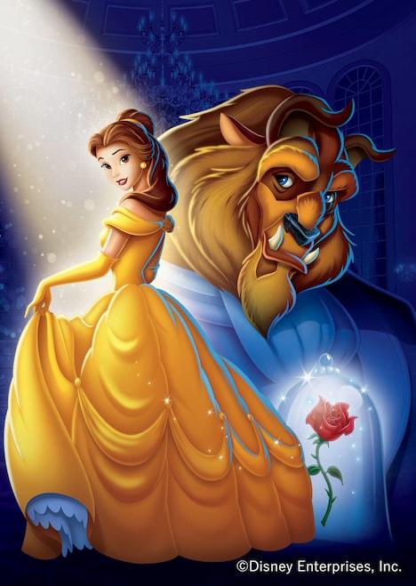 「美女と野獣」ビジュアル