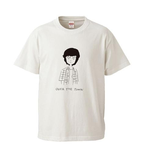 「街の上で」Tシャツ ⻘ver.(ホワイト / 税込2500円)