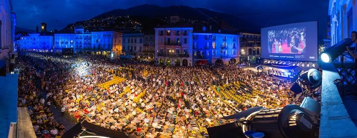 過去のロカルノ国際映画祭の様子。(写真提供:Boesl/picture alliance / Newscom / ゼータ イメージ)