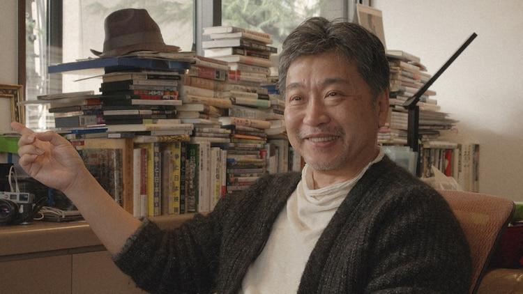 """「映画監督 羽仁進の世界 ~すべては""""教室の子供たち""""からはじまった~」より、是枝裕和。"""