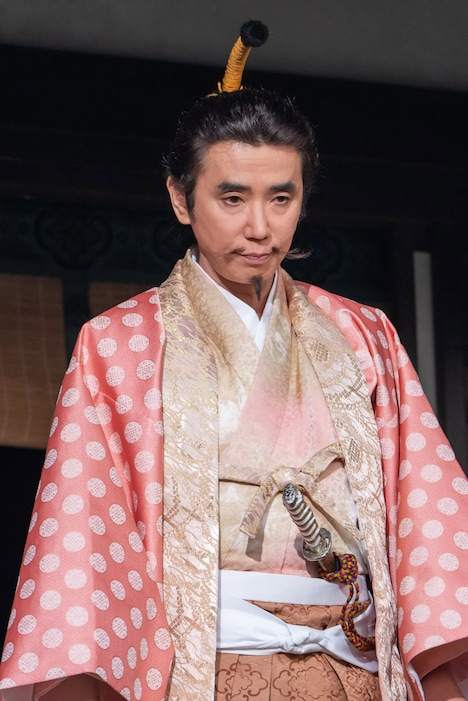 「麒麟がくる」より、ユースケ・サンタマリア演じる朝倉義景。