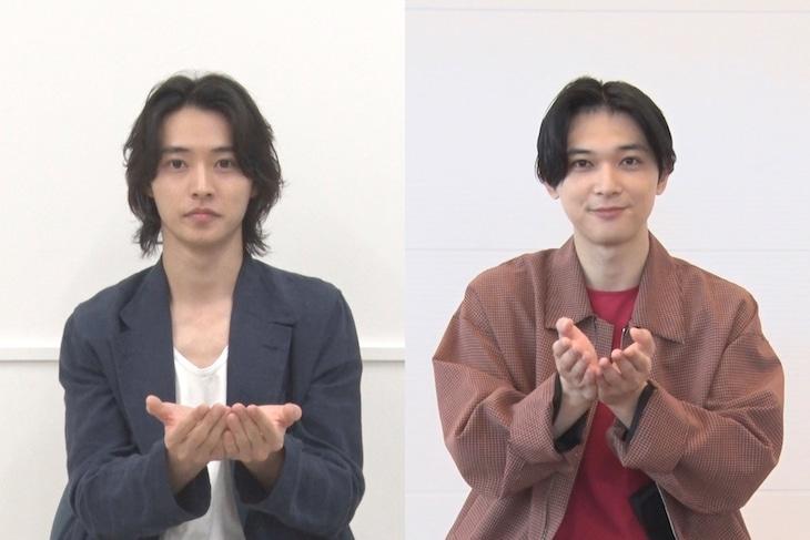 左から山崎賢人、吉沢亮。