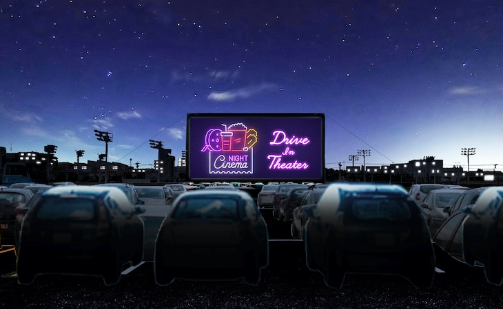 「CINEMATHEQUE -Drive-in Theater-」ビジュアル