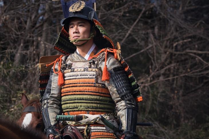 風間俊介演じる松平元康(徳川家康)。