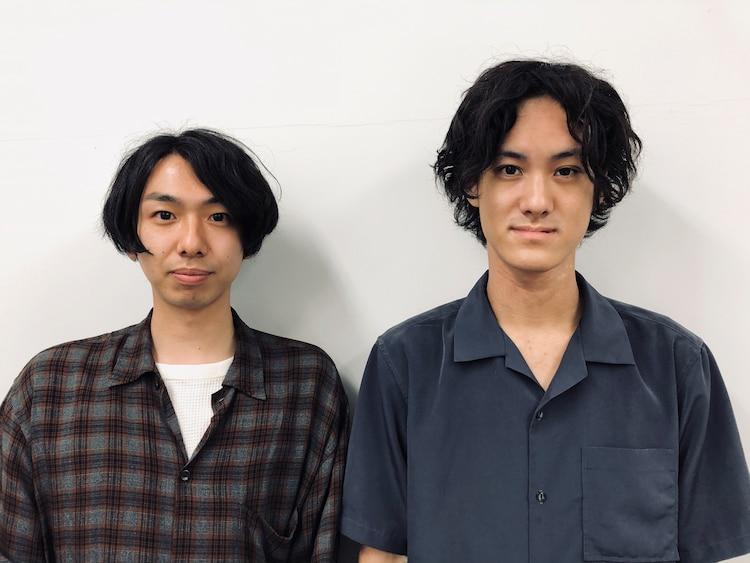 左から佐藤慎太朗、吉川鮎太。