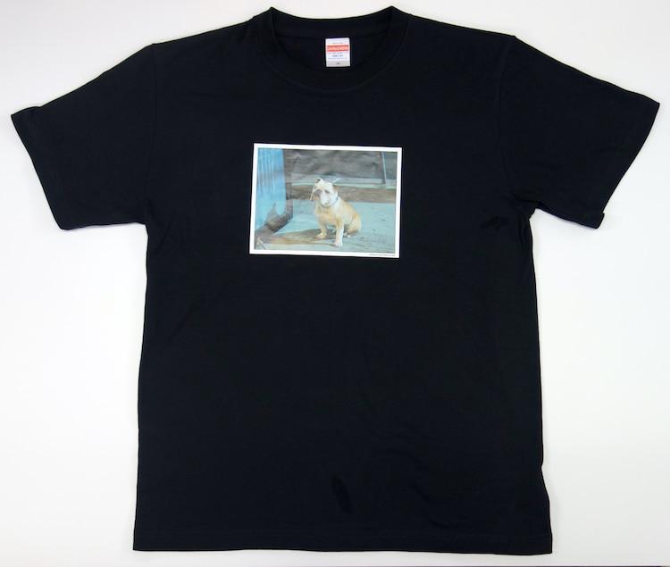 「パターソンTシャツ/black」