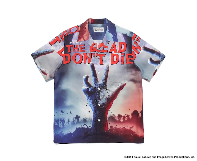 「JIM JARMUSCH 『The Dead Don't Die』/ HAWAIIAN SHIRT」