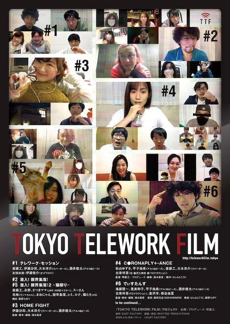 「TOKYO TELEWORK FILM」ビジュアル