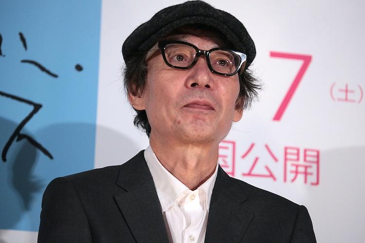 2016年7月に映画「オーバー・フェンス」の東京プレミア上映会に出席した鈴木常吉。