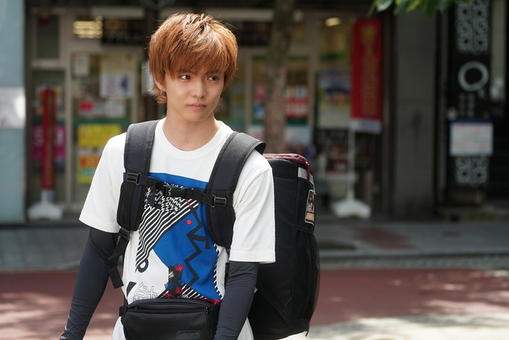 佐藤大樹演じる松田勇介。