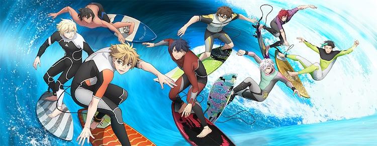 「WAVE!!~サーフィンやっぺ!!~」ビジュアル