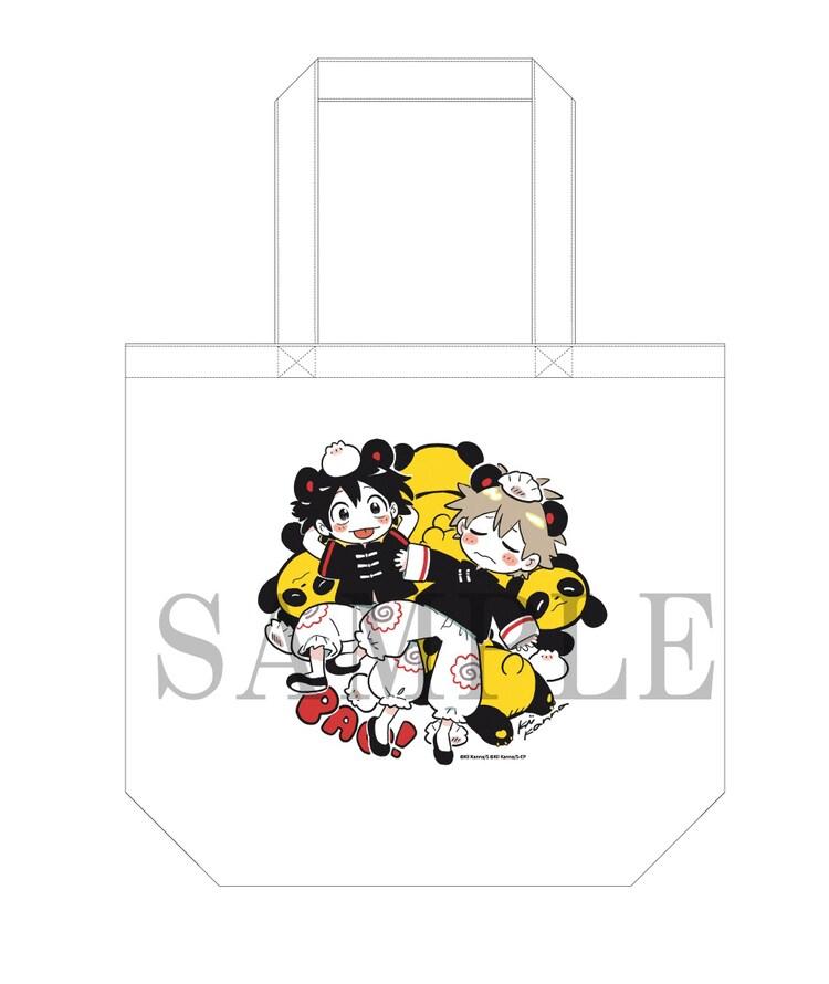 「PARCO×映画『海辺のエトランゼ』アニメ原画展」で販売されるキャンバストートバッグ(税込2530円)。