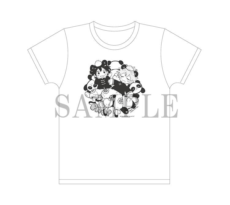 「PARCO×映画『海辺のエトランゼ』アニメ原画展」で販売されるTシャツ(税込3520円)。