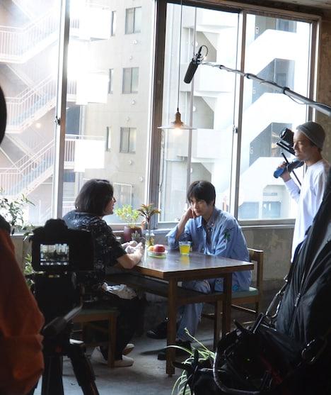 「10年渋谷を、さ迷って/A decade of roaming」メイキング写真