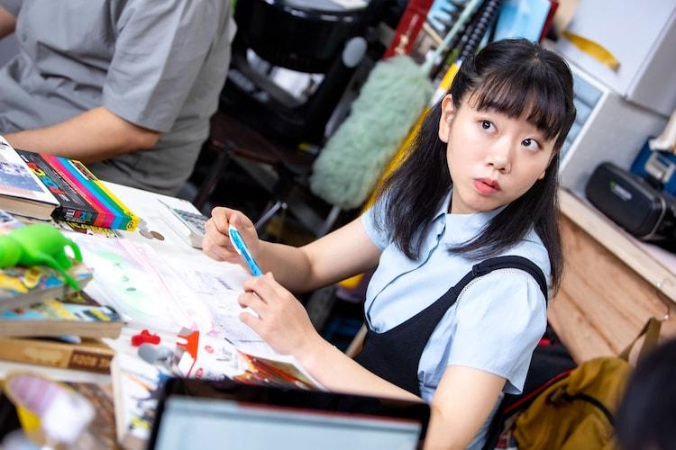 藤谷理子演じるリコ。