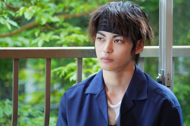 「樹海村」より、神尾楓珠演じるキャラクター。