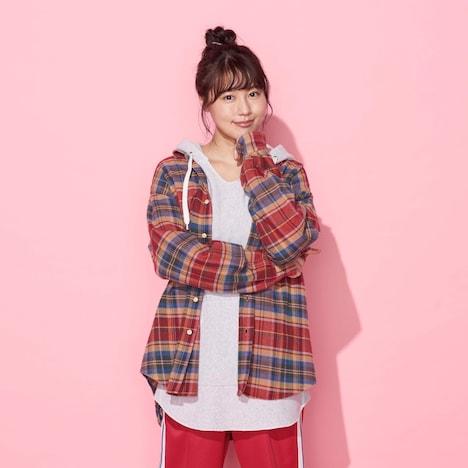 「姉ちゃんの恋人」の主人公・安達桃子を演じる有村架純。