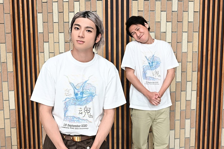 (左から)山田裕貴、岩永ひひお。(c)TBS
