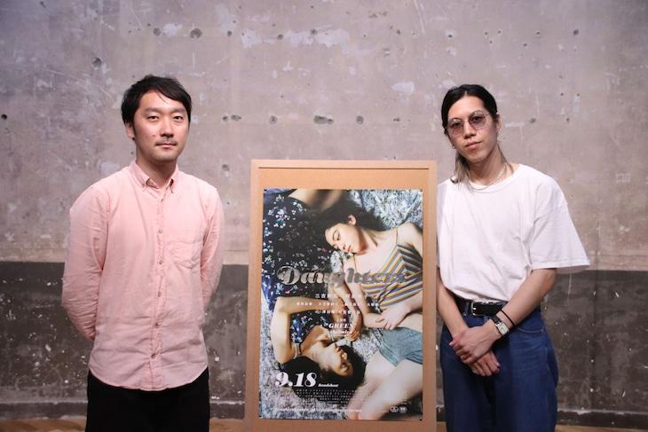 左から津田肇、MCを務めたライターの折田侑駿。