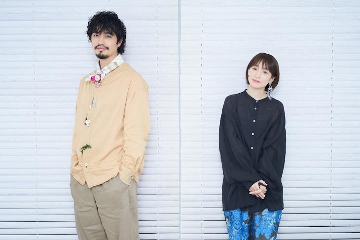 左から齊藤工、安藤裕子。(Photo by 朝岡英輔)
