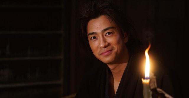 三浦翔平演じる坂本龍馬。