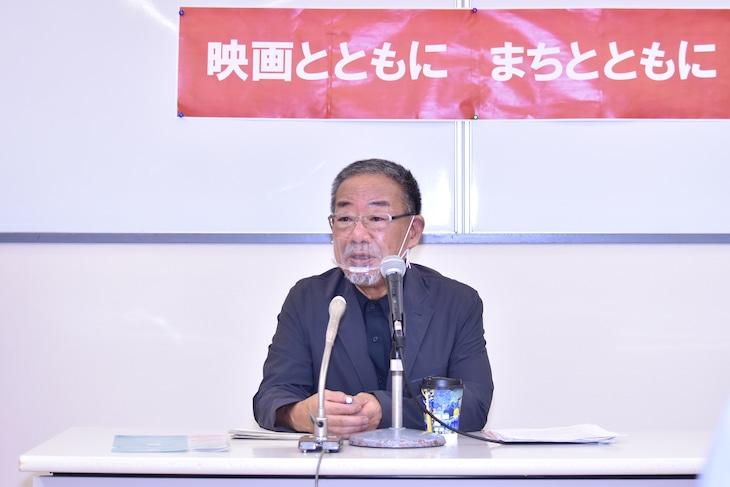 第26回KAWASAKIしんゆり映画祭2020開催記者発表会に出席した安岡卓治。