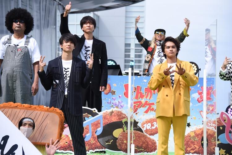 「渋谷の中心でとんかつ愛を叫ぶ presented by『とんかつDJアゲ太郎』」の様子。