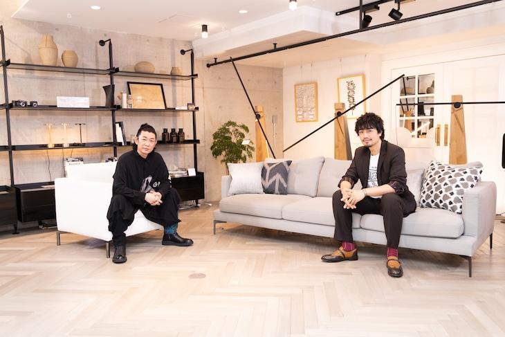 左から永瀬正敏、斎藤工。
