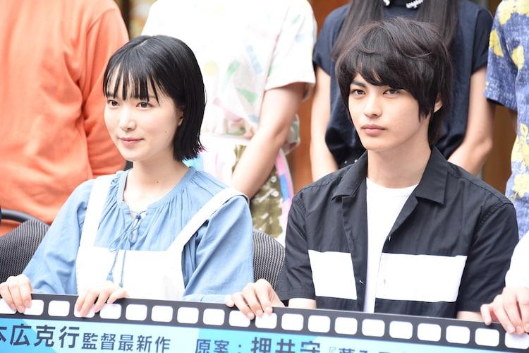 左から小川紗良、神尾楓珠。