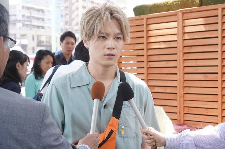「監察医 朝顔」第2シーズン第1話より、松田元太演じる佐藤祐樹。