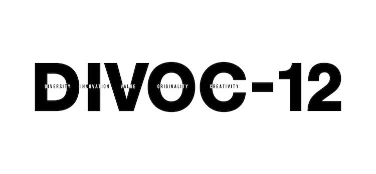 「DIVOC-12」ロゴ