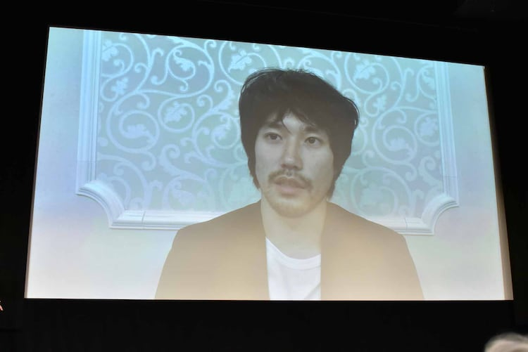 松山ケンイチからのビデオメッセージ。