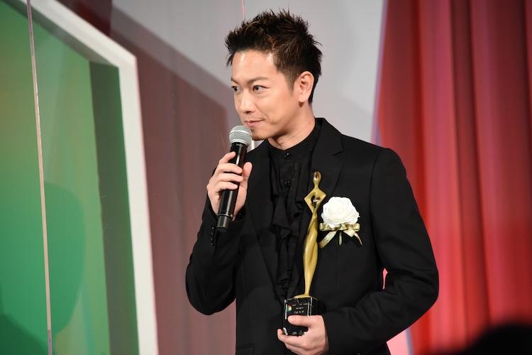 東京ドラマアウォード2020の授賞式に出席した佐藤健。