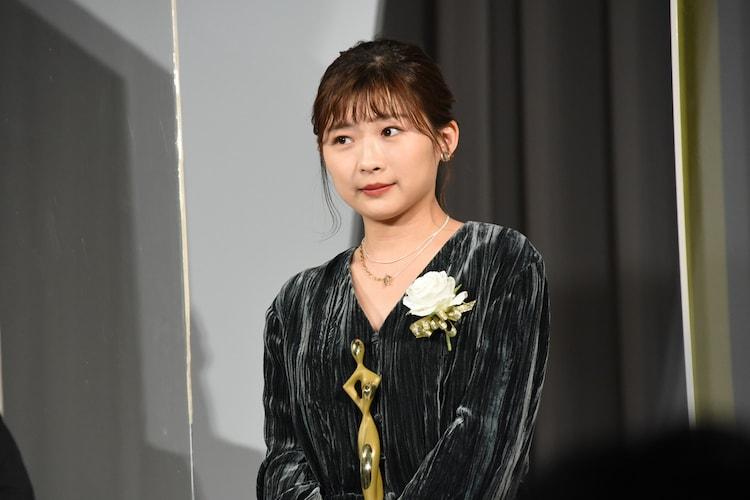 東京ドラマアウォード2020の授賞式に出席した伊藤沙莉。