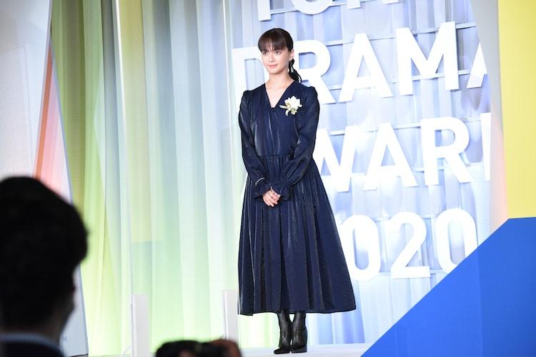 東京ドラマアウォード2020の授賞式に出席した多部未華子。