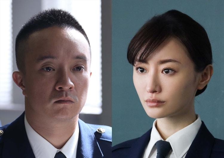 左から濱田岳演じる鳥羽暢照、松本まりか演じる田澤愛子。