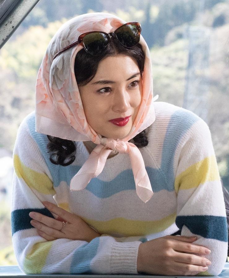 「キネマの神様」より、北川景子演じる桂園子。