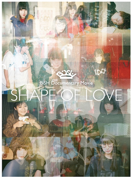 「BiSH Documentary Movie SHAPE OF LOVE」ビジュアル