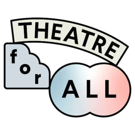 「THEATRE for ALL」ロゴ