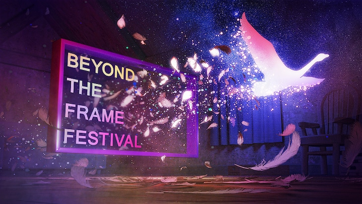 「Beyond the Frame Festival」ビジュアル