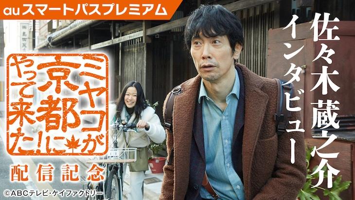 「ミヤコが京都にやって来た!」ビジュアル