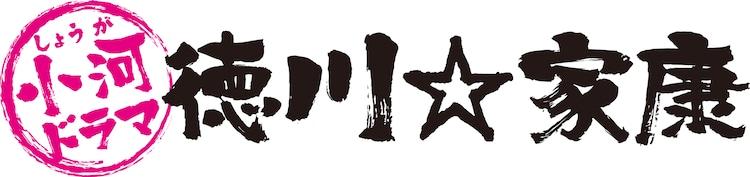 「小河ドラマ 徳川☆家康」ロゴ