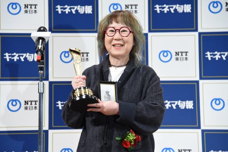 「2020年 第94回キネマ旬報ベスト・テン」表彰式に出席した大林千茱萸。